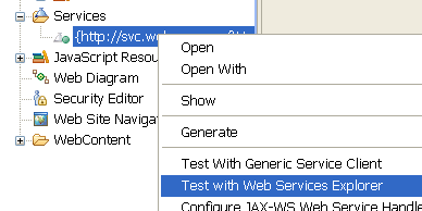 5. Close the WSDL editor. Part 5 - Invoke the Service We should now actually test the service. Testing the service would imply actually invoking the operation.