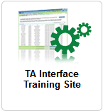 Figure 2. Card for TA Interface 4. Enter your email address and password. 5. Click Secure Login. The TA Interface appears. To access the TA Interface Training Site: 1.