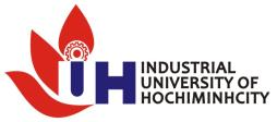 INDUSTRIAL UNIVERSITY OF HO CHI MINH CITY AUDITING ACCOUNTING FACULTY 10.2.