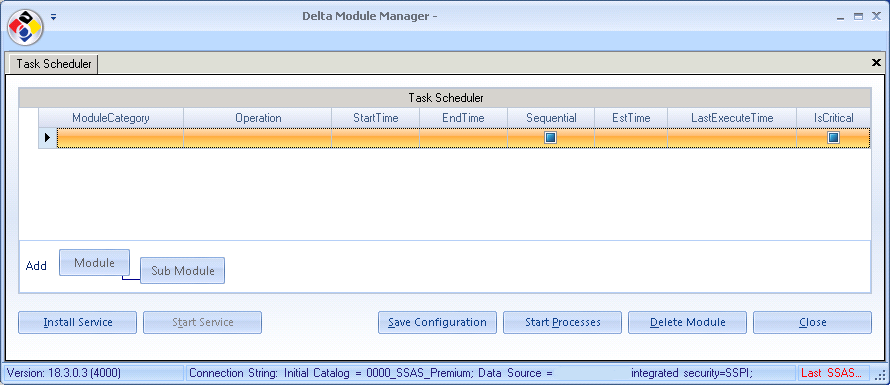 Chapter 5 - DMM Installation (Server) Installation Guide: Delta Module Manger Launcher It is only necessary to install the DMM on a server if you use any of the server modules as follows: SIPP~Web