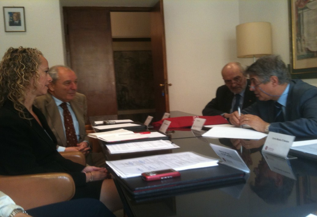 The first program is being developed in collaboration with the University of Molise (Prof.