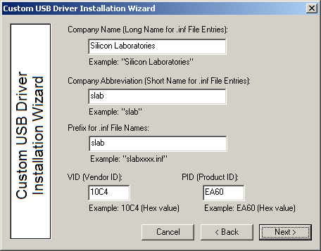 4. Creating a Custom Driver This section describes how to create a custom driver.