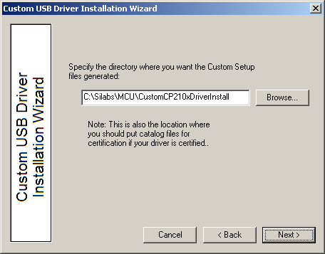 4.5. Installation Options Specific options for the GUI should now be specified. 4.5.1.