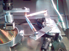 CALIBRATION OF A ROBUST 2 DOF PATH MONITORING TOOL FOR INDUSTRIAL ROBOTS AND MACHINE TOOLS BASED ON PARALLEL KINEMATICS E. Batzies 1, M. Kreutzer 1, D. Leucht 2, V. Welker 2, O.