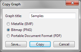 Exporting Run Files page 311 4. Select a directory to save the file to and enter a file name, then click OK.