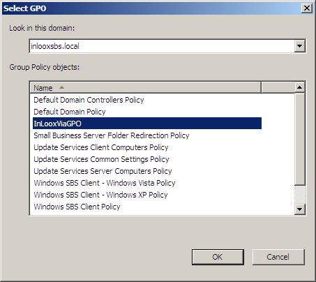 Linking a Group Policy Object Link the GPO to an Organizational Unit. 1.
