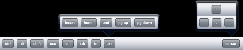 Using Oracle Virtual Desktop Client for ipad 4. Exit from delete mode. Tap the Cancel button. 2.4. Using Gestures in a Session A gesture is a finger motion that is used to interact with the ipad touch screen.