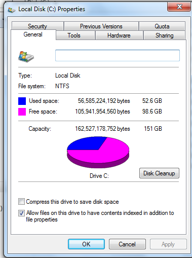 Computer Hard Drive Space Left click on the My Computer