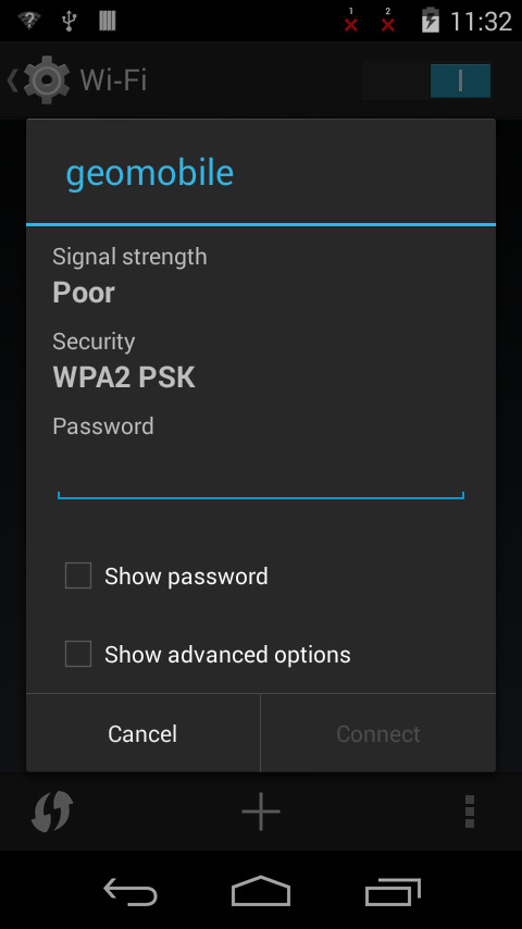 3.6 Wireless Network You can surf the net when the device is in wireless network environment. Go into Settings, turn Wi-Fi ON below WIRELESS & NETWORKS.