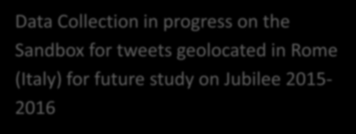 Twitter Outputs Procedures for collecting geolocated tweets from public stream: - Mexican version - Sandbox version