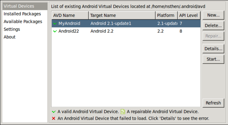 Android SDK and