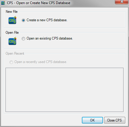 CPS for PC 9 Installing CPS from the CPS Installation Disc CPS can be installed from an installation disc. WARNING You must have administrative privileges to install the software.