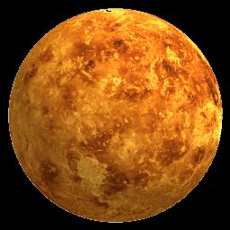 Venus has a dense atmosphere, composed mainly by carbon dioxide, but also by nitrogen. The amount of nitrogen in Venus' atmosphere is almost the same as the amount of oxygen on Earth.
