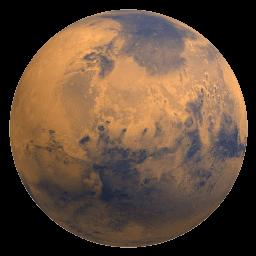 Mars is the 4th planet of the Solar System and the last of the four telluric planets.