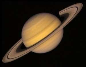 Saturn is the 6th planet of the Solar System and it is located between Jupiter and Uranus.