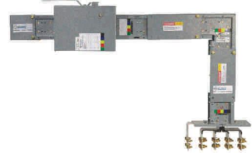 II. MEGADUCT BUSBAR TRUNKING SYSTEM Megaduct busbar trunking system is of sandwich construction, totally enclosed, well insulated design.