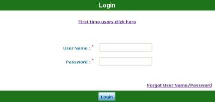 STEP 2: SIGN IN TO YOUR ACCOUNT 1 To log in to your account: a b c Notes: Click the User Name box and type the user name you created in Step 1: Create Your User Account.