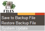 Restoring a Backup Directly from a USB Flash Drive Restoring a backup of your data is easy using your USB flash drive. Follow the directions below to restore a backup from a USB flash drive. 1.