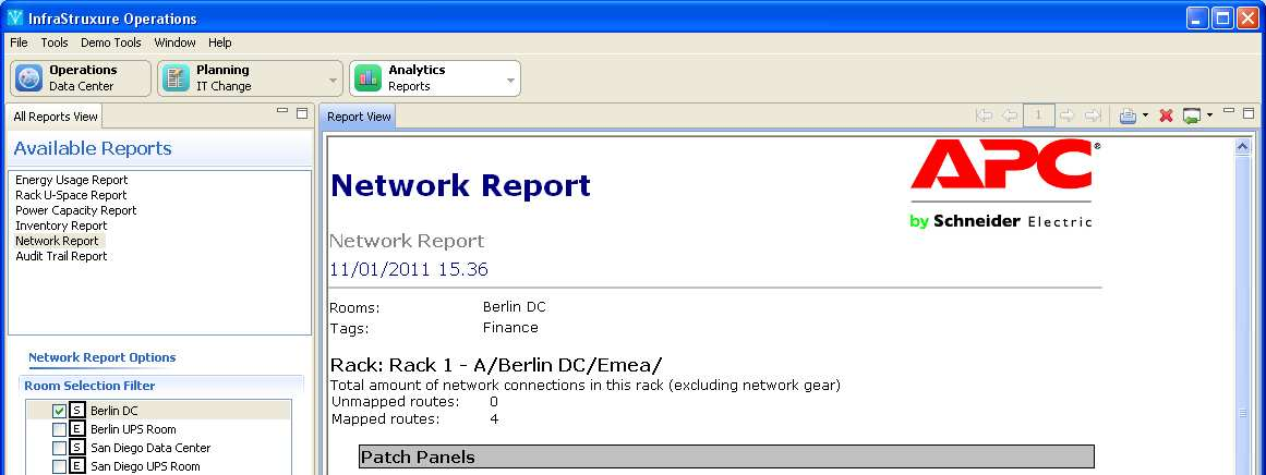 Network Report Network Overview