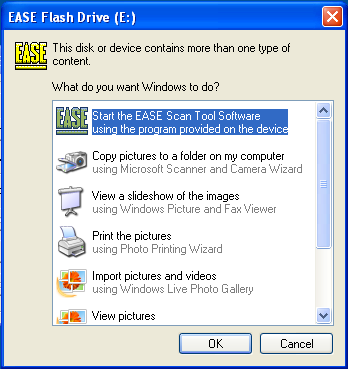 Please Install Your EASE Scan Tool DVD Before Installing Any Other Software That Came With Your Package.