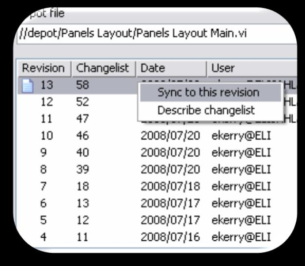 System-Level View Track Changes Integrate with SCC Software Configuration