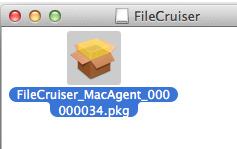 PROMISE Technology Install Agent on Mac The installation file for Mac is contained in the familiar.dmg file. 1.