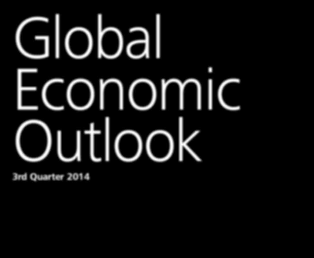 Global Economic Outlook 3rd Quarter