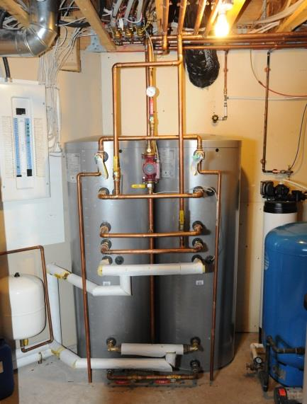 Wainwright Residential Test Site Site Details 3 heat pump, vertical borehole geo-exchange system Provides heating, cooling, and domestic hot water Heat pump electricity consumption is significant and