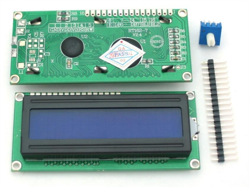 32-Character LCD Screen Interface: 4-bit or 8-bit bus, plus 3 control lines Writing a single 8-bit character to the screen involves writing two successive 4-bit nibbles to the bus.