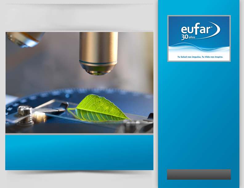 EUFAR S.A. Works for human health, designing, manufacturing and marketing, pharmaceutical solutions for dental and infection control.