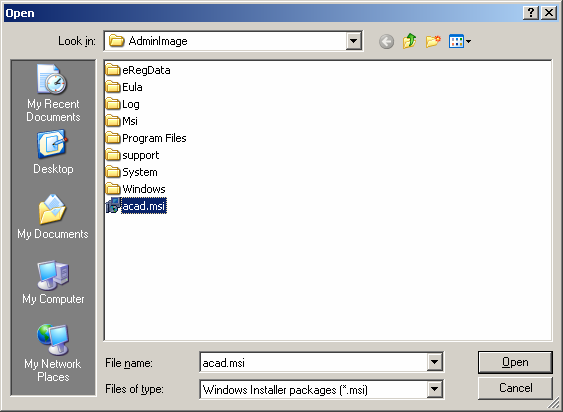 10. Again right-click on Software installation under Computer Configuration > Software Settings. In the popup menu select New > Package as shown in Figure 14.