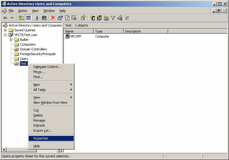 The computer is now moved to the Test OU where the group policy will be created. Create a GPO to install AutoCAD. 1.