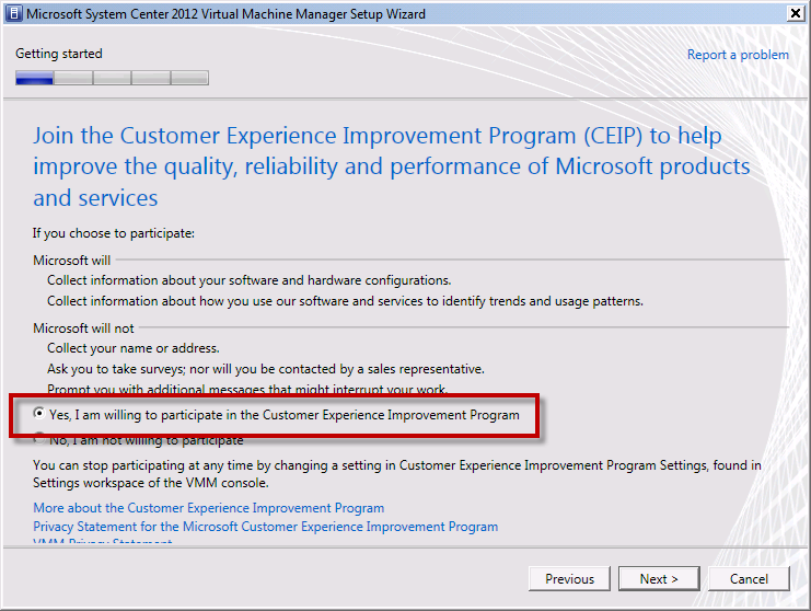 Team Foundation Server 2012 Installation Guide Page 103 of 143 Choose whether