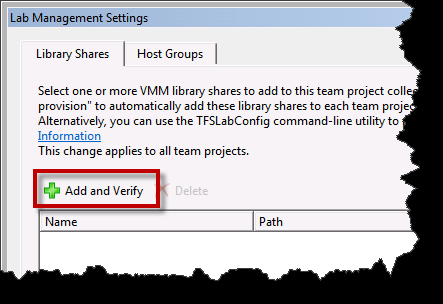 Team Foundation Server 2012 Installation Guide Page 138 of 143 You should see that the Library Shares and Host Groups are listed as Not Configured.