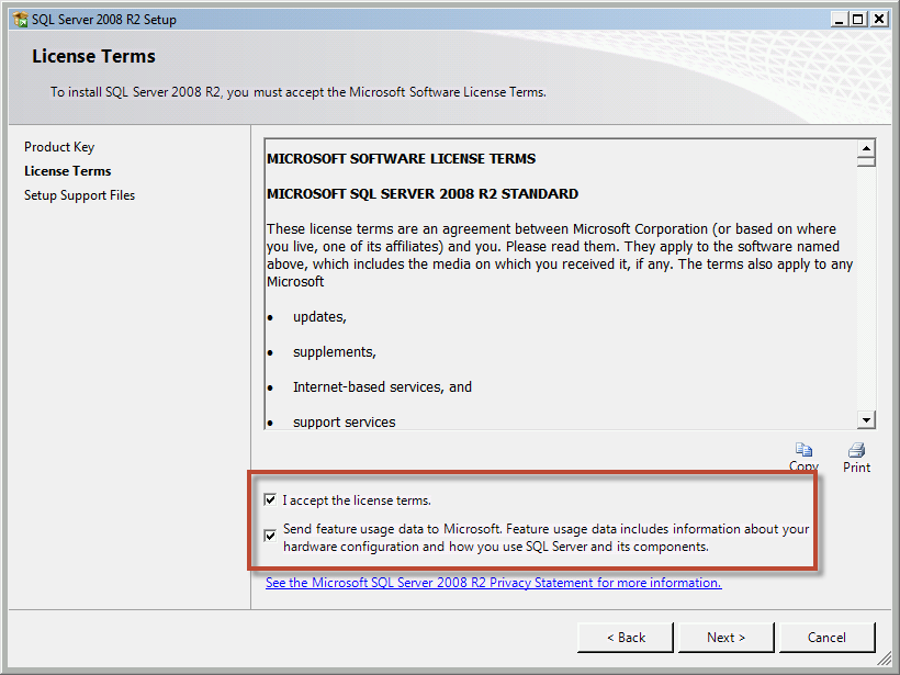 Team Foundation Server 2012 Installation Guide Page 21 of 143 You should now be on the