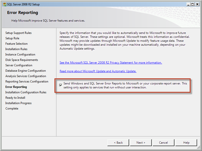 Team Foundation Server 2012 Installation Guide Page 32 of 143 You should now be on the