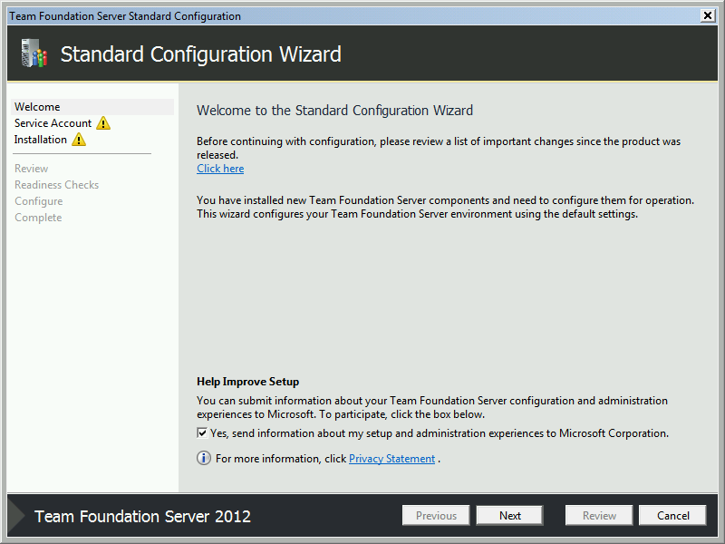 Team Foundation Server 2012 Installation Guide Page 42 of 143