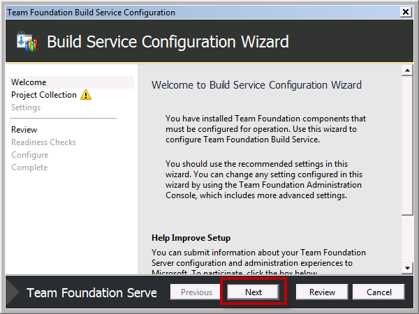 Team Foundation Server 2012 Installation Guide Page 63 of 143 You