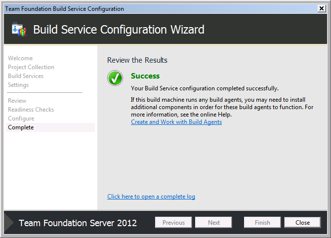 Team Foundation Server 2012 Installation Guide Page 72 of