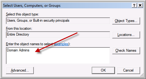 Team Foundation Server 2012 Installation Guide Page 86 of 143 (Optional) If you want to add the members of the Domain Admins group as SQL Server administrators,