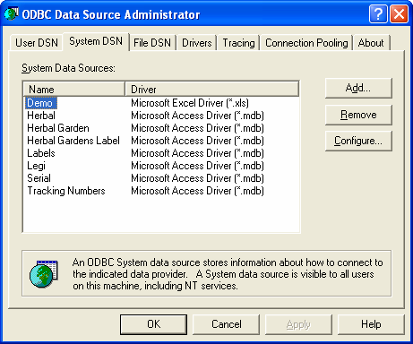 Configuring the ODBC driver and defining a Data Source 19.