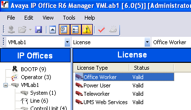 License Configuration for UMS Prior to configuring Users or Hunt Groups,