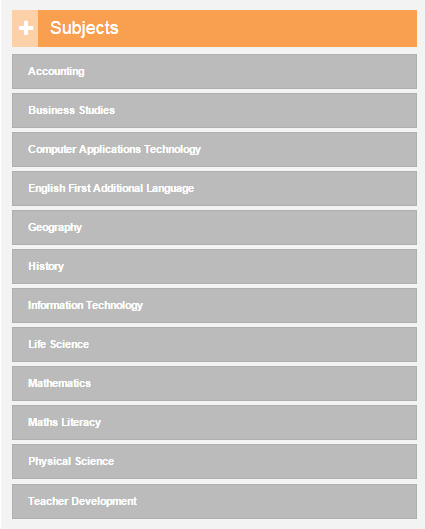 Select Subjects 1.