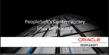 Learn More PeopleSoft Information Development Resources Information Portal