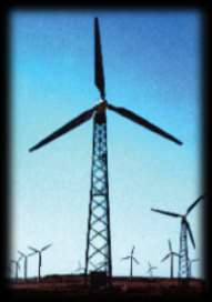 different technologies from Germany, Denmark and USA. Wind turbines have single, double and triple lands.