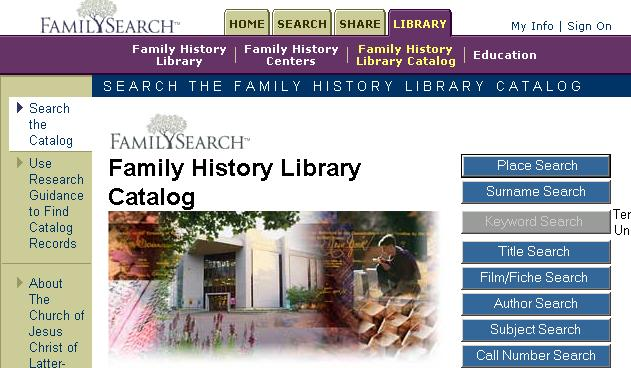 How To Find Land Records In The Family History Library Catalog 1 st