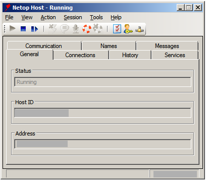2.2 Configure the Host 1. Run through the Host configuration wizard and select the desired setup options to make the Host ready for use.