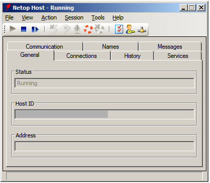 5. Click the Host Name tab and from the Naming section, select the Use environment variable option.