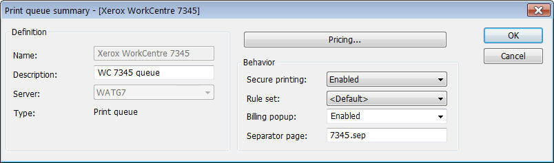 Chapter 5: Advanced Printing Configuration Enabling Secure Printing Secure printing holds documents in a secure print queue until the user releases the document from an embedded device.