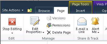 Workflow and Project Detail Pages 239 7. The newly selected Web Part is displayed. Now you must select the project fields used to populate the web part. From the top right menu select Edit Web Part.